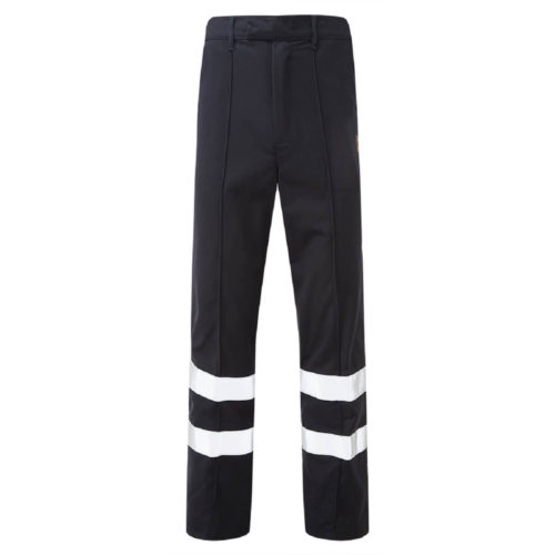HAZTEC® Amna Flame Resistant Anti-Static Inherent Classic Trouser Navy Front