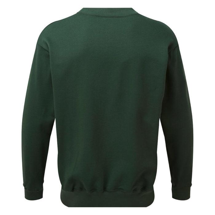 HAZTEC® Bakken Flame Resistant Anti-Static Inherent Sweatshirt Green Back