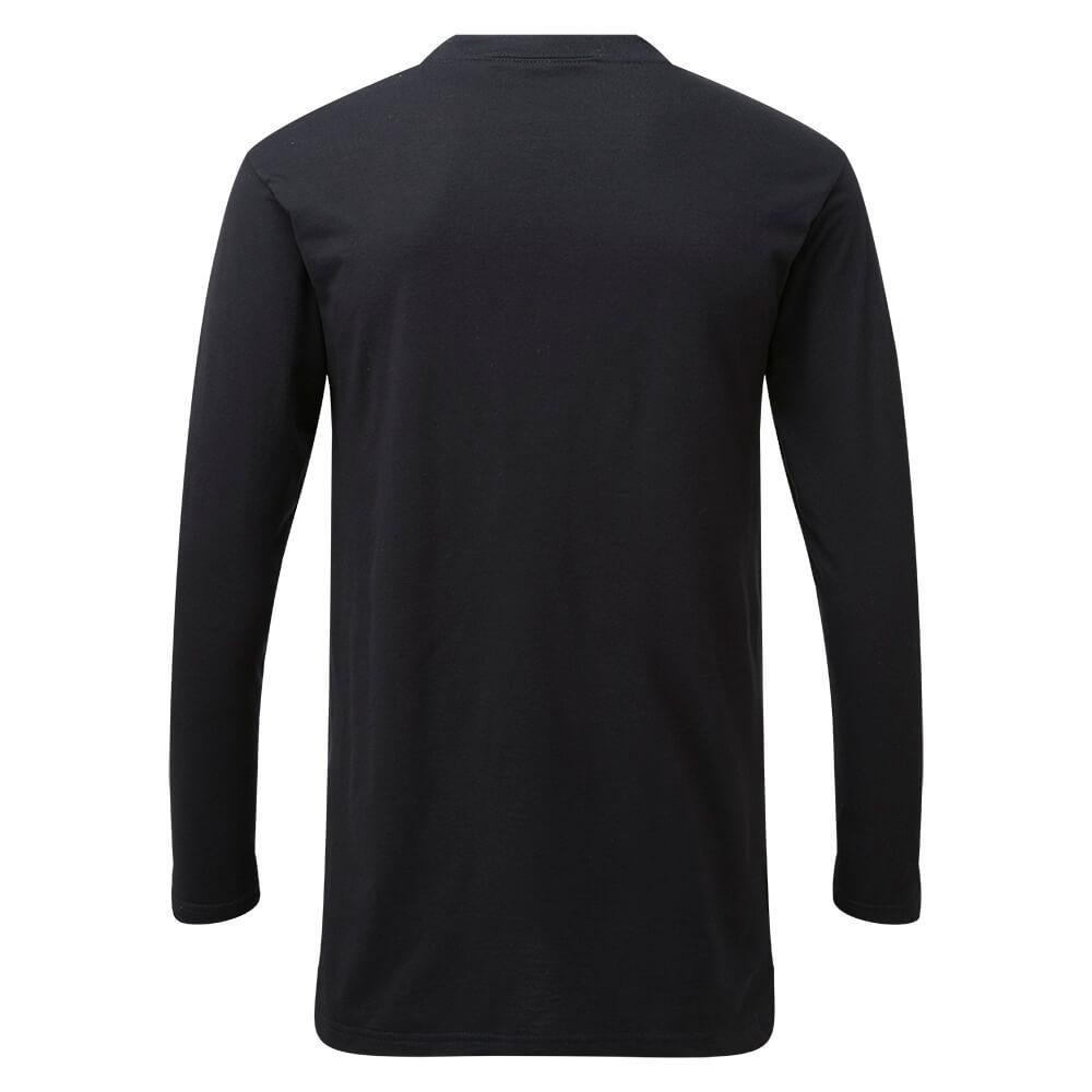 HAZTEC® Belanak Flame Resistant Anti-Static Inherent Long Sleeve T-Shirt Navy Back
