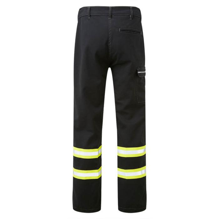 HAZTEC® Furrial Flame Resistant Anti-Static Inherent Combat Trouser Black Back
