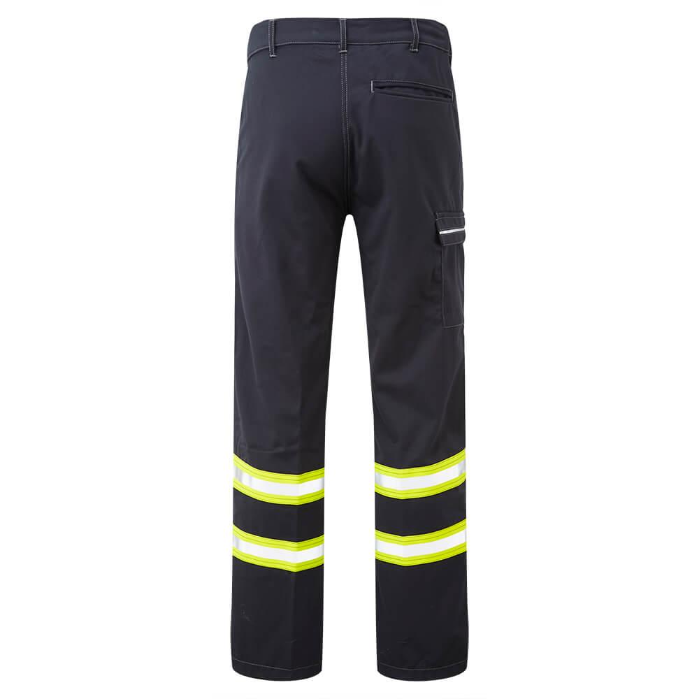 HAZTEC® Furrial Flame Resistant Anti-Static Inherent Combat Trouser Navy Back