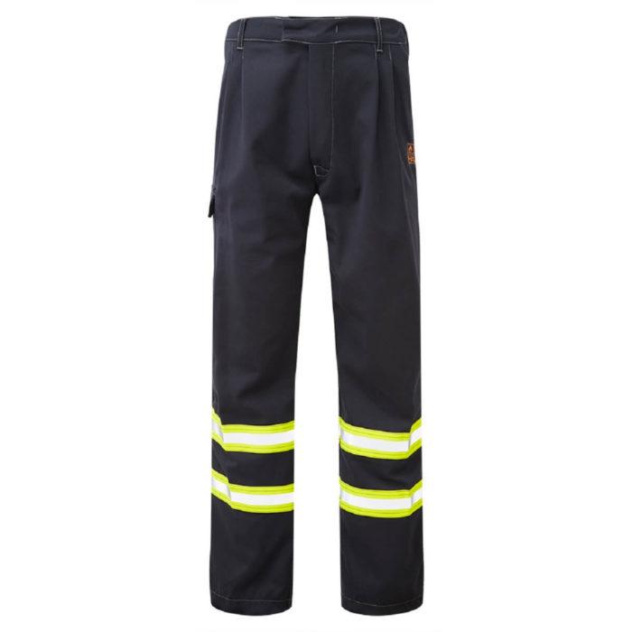 HAZTEC® Furrial Flame Resistant Anti-Static Inherent Combat Trouser Navy Front