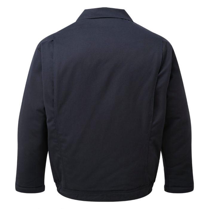 HAZTEC® Gullfaks Flame Resistant Anti-Static Inherent Padded Jacket Navy Back