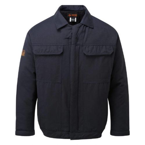 HAZTEC® Gullfaks Flame Resistant Anti-Static Inherent Padded Jacket Navy Front