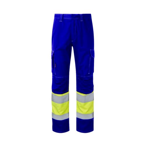 HAZTEC® Kilmar FR AS ARC Hi-Vis Combat Trouser-Front_RoyalHV Yellow