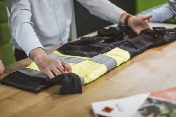 HAZTEC FR AS ARC Workwear_Kilmar on Table